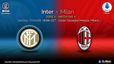 M88 Soi Kèo bóng đá Inter Milan vs AC Milan 23h00 ngày 17/10 (Serie A 2020/21)