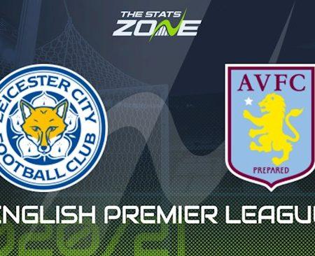 M88 Soi Kèo bóng đá Leicester vs Aston Villa 1h15 ngày 19/10 (Premier League 2020/21)