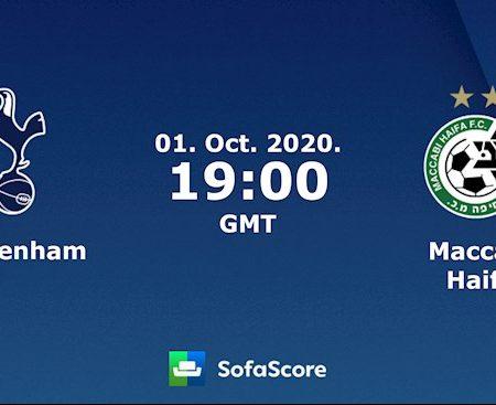 M88 Soi Kèo bóng đá Tottenham vs Maccabi Haifa 2h00 ngày 2/10 (Europa League 2020/21)