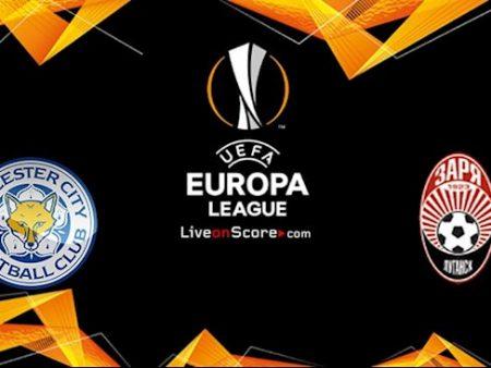 M88 Soi Kèo bóng đá Leicester vs Zorya 2h00 ngày 23/10 (Europa League 2020/21)