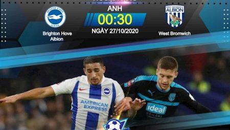 Fun88 Soi Kèo bóng đá Brighton vs West Brom 0h30 ngày 27/10 (Premier League 2020/21)