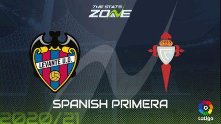 188Bet Soi Kèo bóng đá Levante vs Celta Vigo 3h00 ngày 27/10 (La Liga 2020/21)