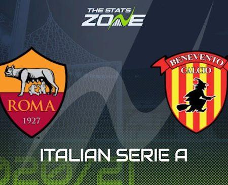 M88 Soi Kèo bóng đá Roma vs Benevento 1h45 ngày 19/10 (Serie A 2020/21)