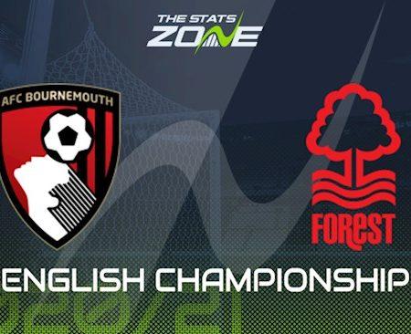 Fun88 Soi Kèo bóng đá Bournemouth vs Nottingham 3h00 ngày 25/11 (Hạng Nhất Anh 2020/21)