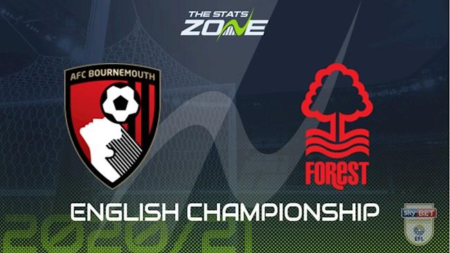 M88 Soi Kèo bóng đá Bournemouth vs Nottingham 3h00 ngày 25/11 (Hạng Nhất Anh 2020/21)