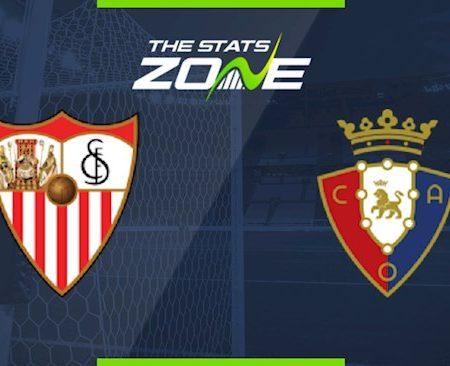 188Bet Soi Kèo bóng đá Sevilla vs Osasuna 0h30 ngày 8/11 (La Liga 2020/21)