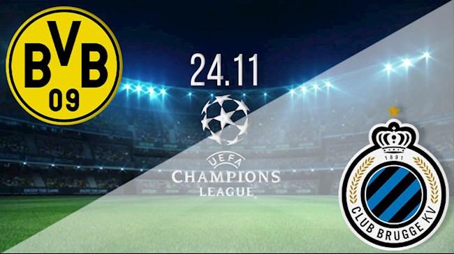 M88 Soi Kèo bóng đá Dortmund vs Club Brugge 3h00 ngày 25/11 (UEFA Champions League 2020/21)