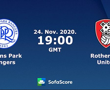 Fun88 Soi Kèo bóng đá QPR vs Rotherham 2h00 ngày 25/11 (Hạng Nhất Anh 2020/21)