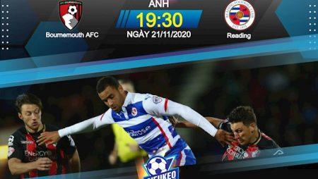 Fun88 Soi Kèo bóng đá Bournemouth vs Reading 19h30 ngày 21/11 (Hạng Nhất Anh 2020/21)