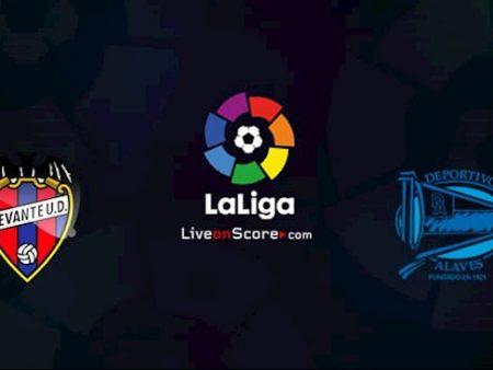 188Bet Soi Kèo bóng đá Levante vs Alaves 0h30 ngày 9/11 (La Liga 2020/21)