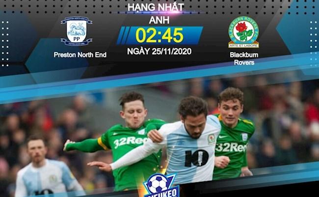Fun88 Soi Kèo bóng đá Preston vs Blackburn 2h45 ngày 25/11 (Hạng Nhất Anh 2020/21)