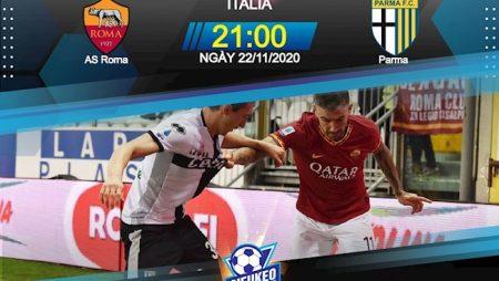 M88 Soi Kèo bóng đá Roma vs Parma 21h00 ngày 22/11 (Serie A 2020/21)