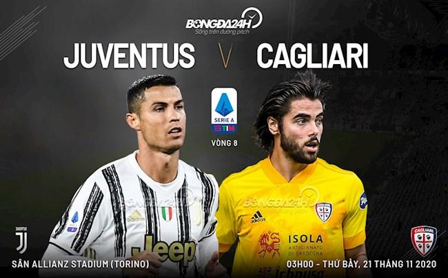 M88 Soi Kèo bóng đá Juventus vs Cagliari 2h45 ngày 22/11 (Serie A 2020/21)