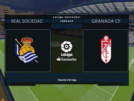 188Bet Soi Kèo bóng đá Sociedad vs Granada 22h15 ngày 8/11 (La Liga 2020/21)