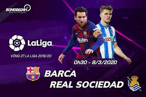 Barca vs Sociedad 0h30 ngày 83 La Liga 201920 hình ảnh