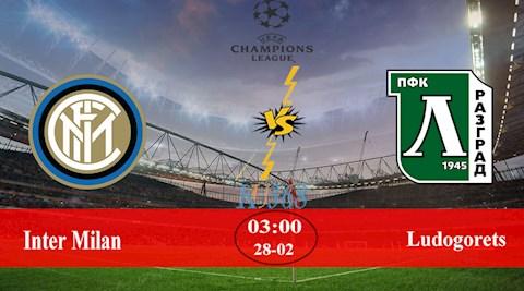 Inter Milan vs Ludogorets 3h00 ngày 282 Europa League 201920 hình ảnh