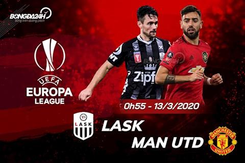 Nhan dinh LASK vs MU vong 1/8 Europa League 2019/20