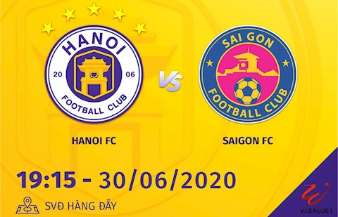 Nhan dinh Ha Noi vs Sai Gon hom nay 30/6 (V.League 2020)