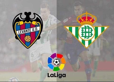 Levante vs Betis 19h00 ngày 286 La Liga 201920 hình ảnh