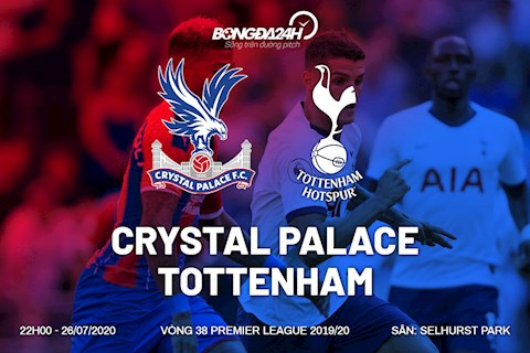 Palace vs Tottenham nhan dinh