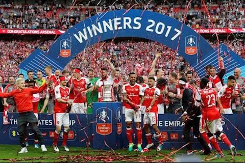 Arsenal vo dich FA Cup 2017