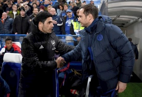 Arteta het loi khen ngoi Lampard
