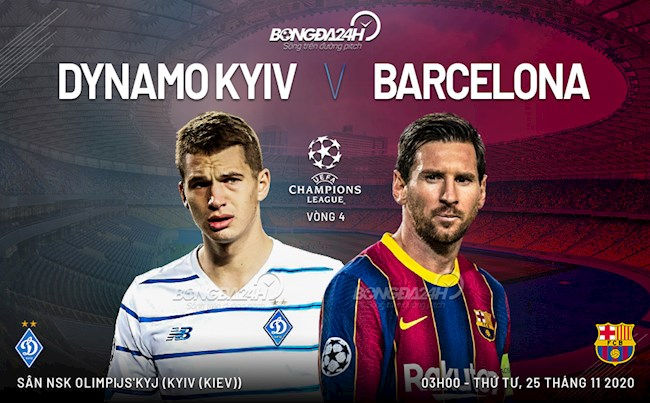 Dynamo Kiev vs Barca