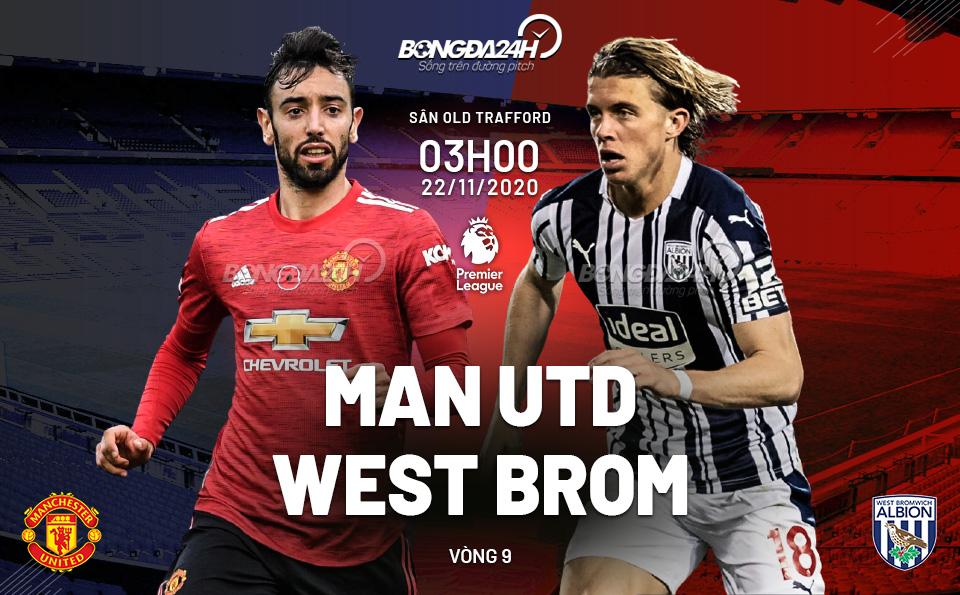 Fun88 Soi kèo MU vs West Brom (3h00 ngày 2211) Lần đầu ở Old Trafford hình ảnh gốc 2